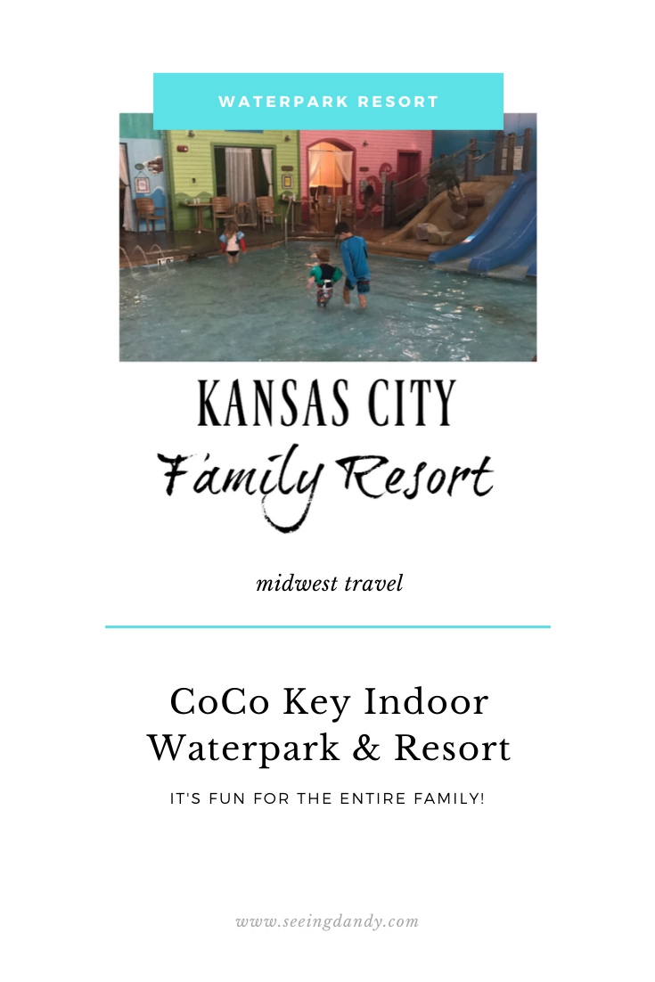 Coco Key indoor waterpark resort Kansas City family resort midwest travel