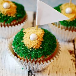 Easy To Make Golf Cupcakes Recipe For Father's Day
