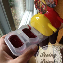 Homemade Black Raspberry and Lime Popsicles