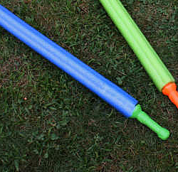 Easy to make pool noodle sword