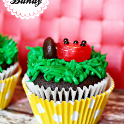 Ladybug Birthday Party Cupcakes Recipe