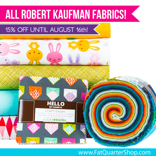 A Robert Kaufman fabric sale is dandy