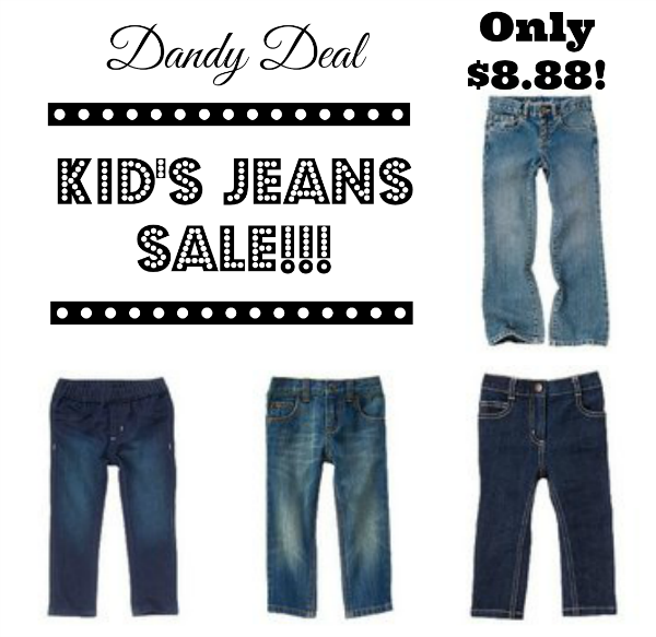kid 39 s jeans sale only seeing dandy. Black Bedroom Furniture Sets. Home Design Ideas