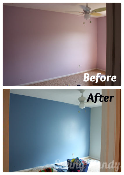 purple1, purple bedroom, make over, Sherwin-williams Scanda, sherwin-williams sea salt, sherwin-wiliams, Olympic One, color match, purple room, blue room, boys bedroom, tween bedroom, boys tween bedroom