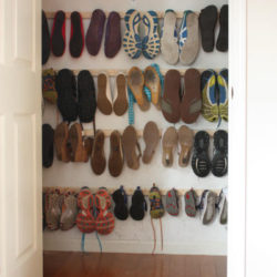 We Bought a House: Shoe Closet Organizer