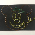 Easy To Make Halloween Mickey Kids Stitch Craft