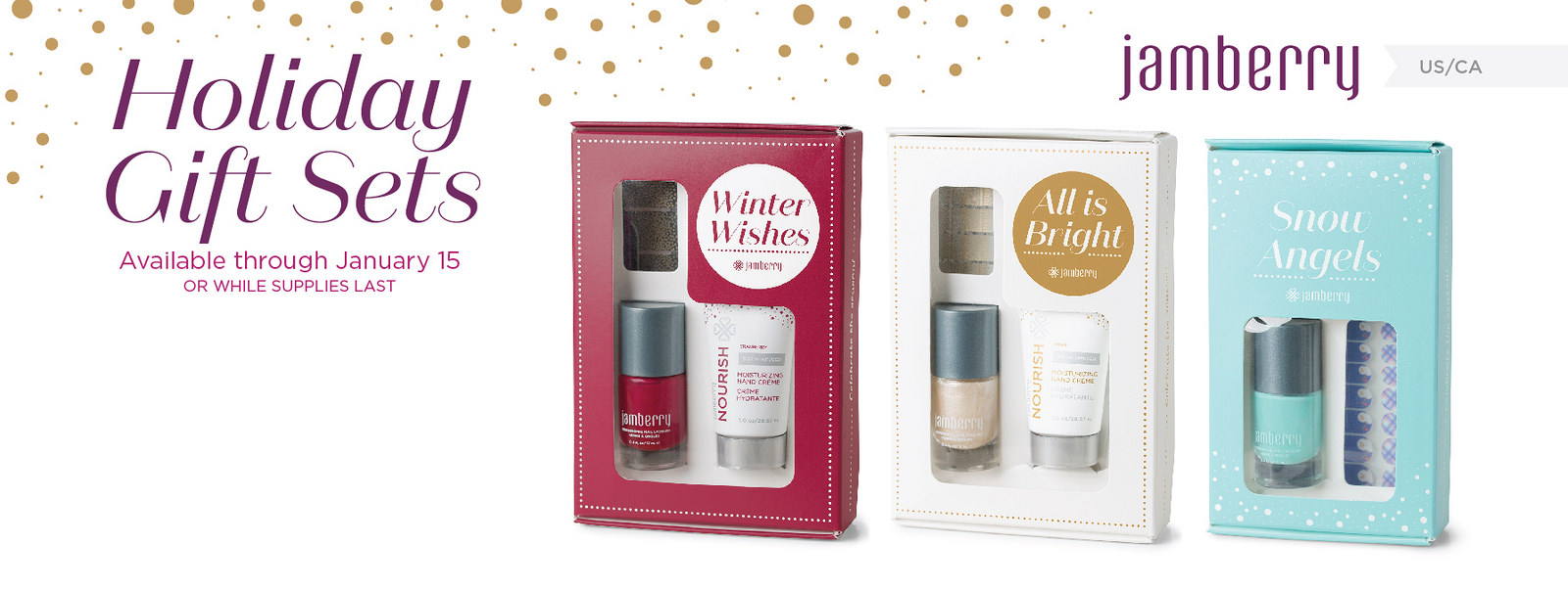 Jamberry Holiday Gift Set Giveaway - Seeing Dandy