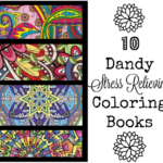 10 Stress Relieving Coloring Books