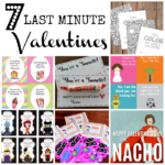 Last Minute Valentines : 7 Dandy Ones!