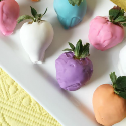 easter recipes, chocolate covered strawberries, candy recipes, easter desserts