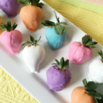 Easter Egg Chocolate Covered Strawberries Recipe