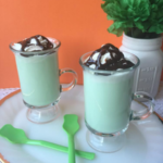 Easy to make white chocolate mint cocoa.