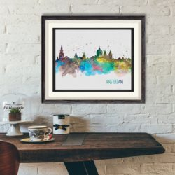 A City Watercolor For Only $4.98?!