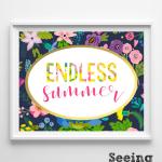 Free & Dandy: Endless Summer Printables