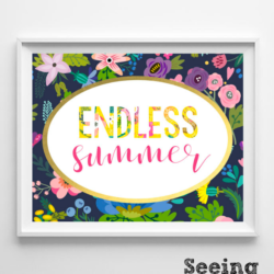 Free & Dandy: Endless Summer Printables