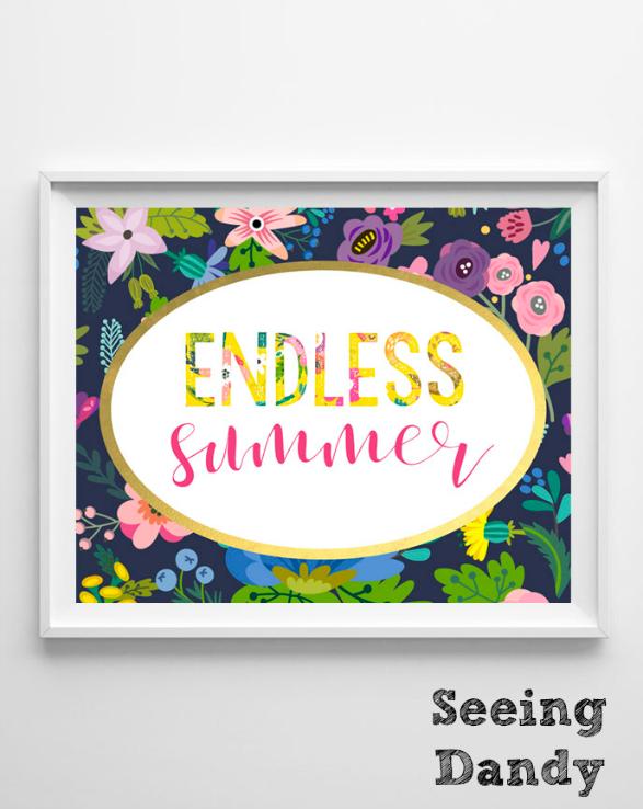 endless summer frame