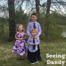 Picture Time:  Matching Children Outfits