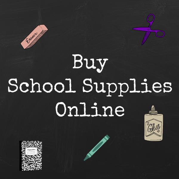 Where To Buy School Supplies Online - Seeing Dandy