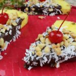 Gluten Free Pineapple Chocolate Snack