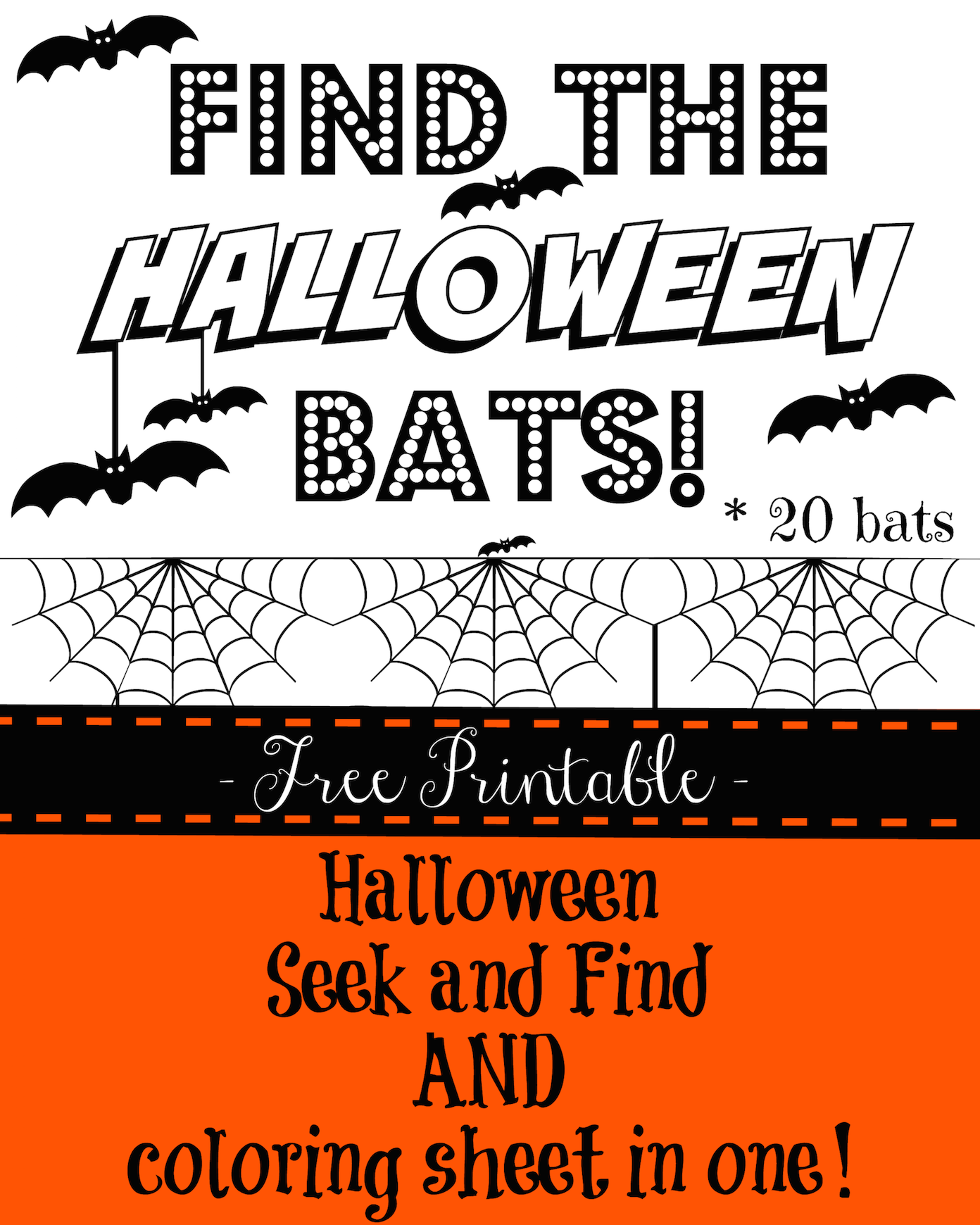 graphic regarding Seek and Find Printable identify Halloween Request And Locate Printable For Young children - Watching Dandy
