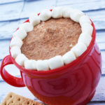 Gluten Free Hot Chocolate Cheesecake Dip