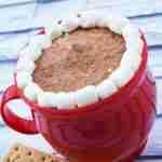 Gluten Free Hot Chocolate Cheesecake Dip