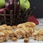 Gluten Free Caramel Apple Rice Krispies Treats