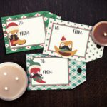 Southwestern Christmas Gift Tags Free Printables