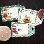 Southwestern Christmas Gift Tags Free Printables