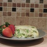Chicken Broccoli Baked Omelet Recipe