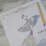 Free Printable Peacock Plumette Coloring Sheet