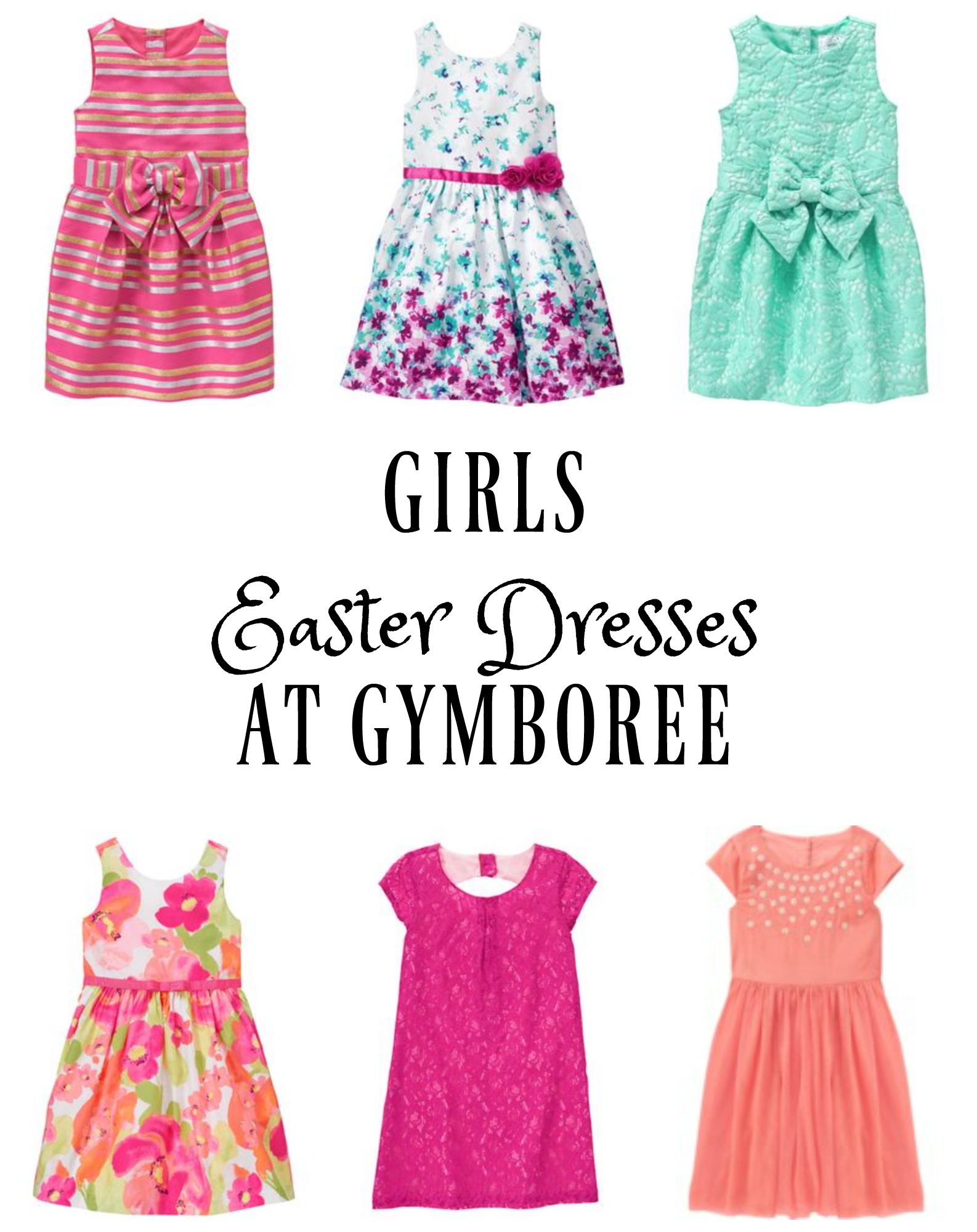 Where To Find Girls Easter Dresses 4 6x Seeing Dandy