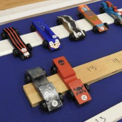 Fast Pinewood Derby Car: Winner Winner