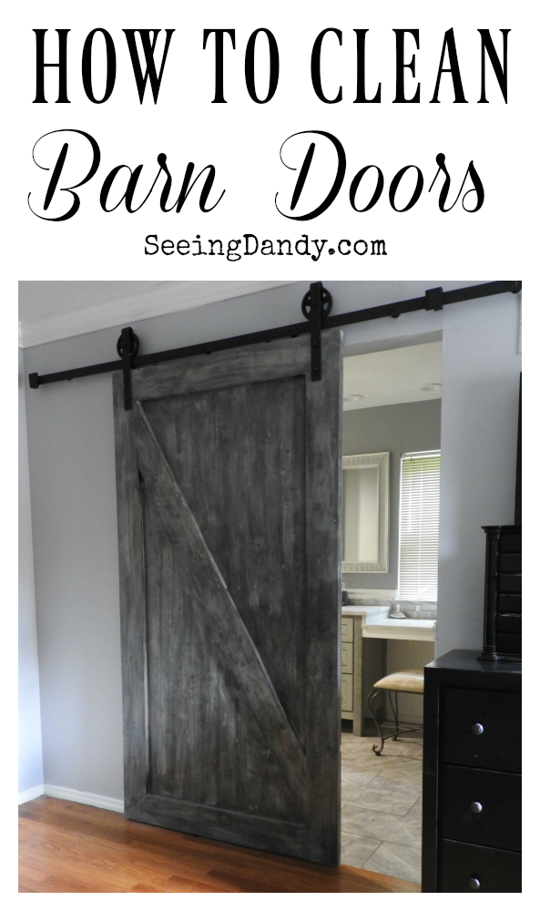 How To Clean Barn Doors With Norwex