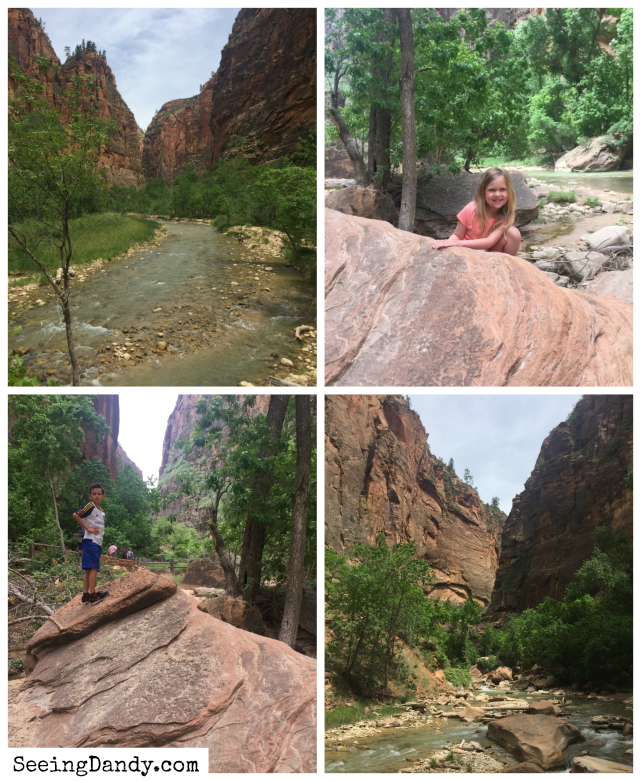 Zion National Park family vacation in Utah