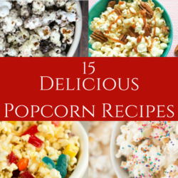 DIY delicious popcorn recipes.