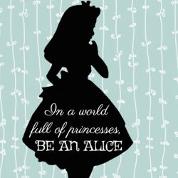 Free Disney Inspired Alice In Wonderland Printables