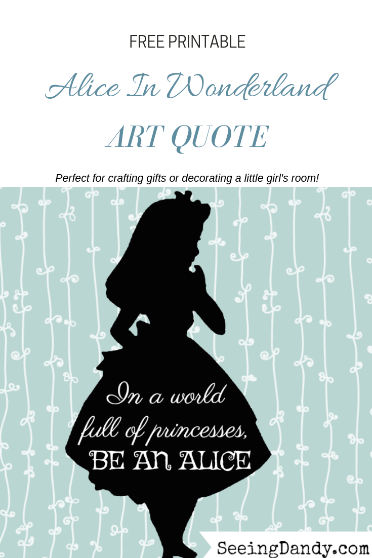 picture regarding Alice in Wonderland Printable titled Absolutely free Disney Influenced Alice Within just Wonderland Printables - Watching