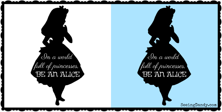 photo about Alice in Wonderland Printable called Free of charge Disney Encouraged Alice Inside of Wonderland Printables - Looking at
