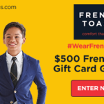 French Toast Gift Card Giveaway For Back To School