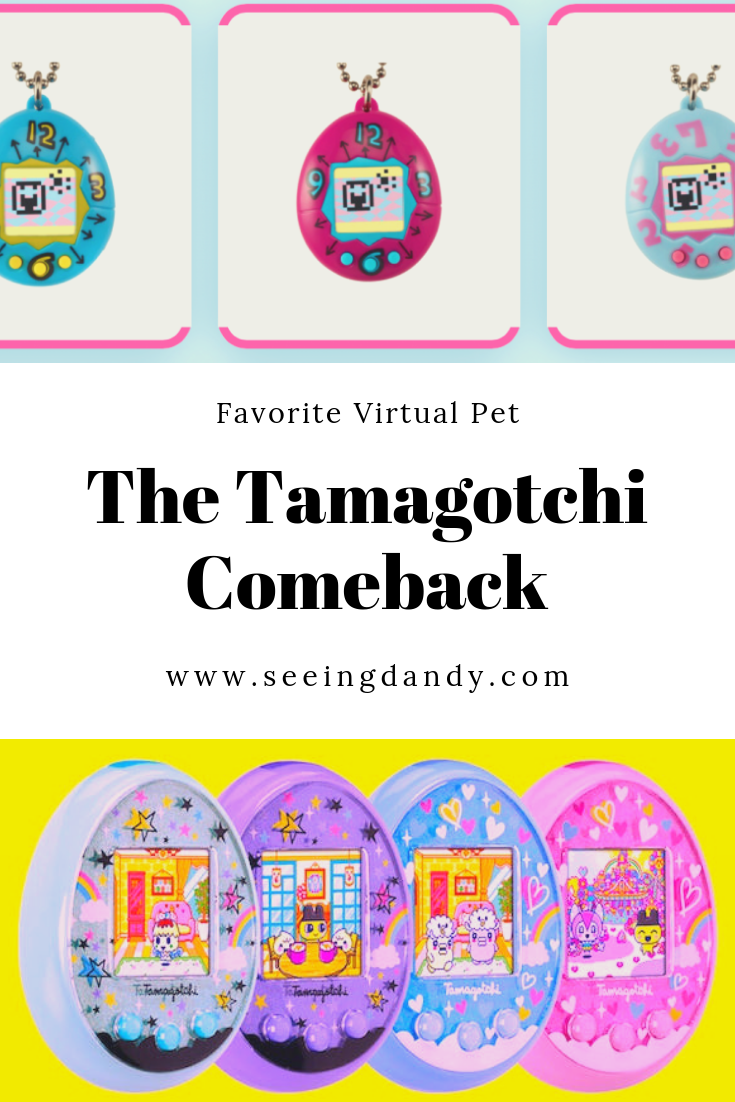 The Tamagotchi favorite virtual pet from the 90's has made a comeback.