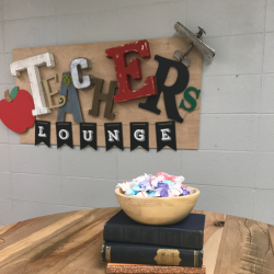 Back To School Teacher's Lounge Makeover