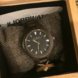 JORD Wood Watch Giveaway For Holiday Gift Giving