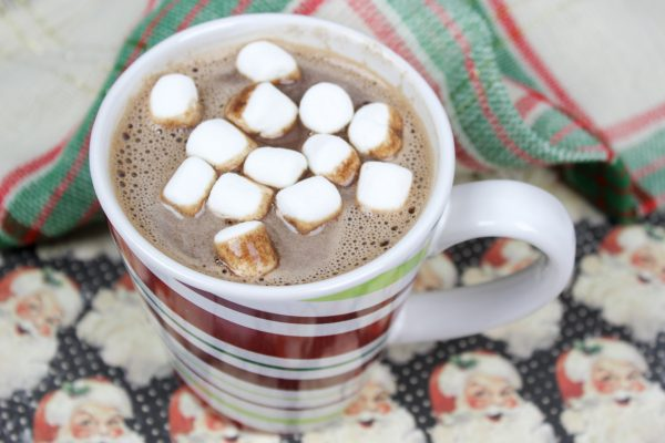 Nutella hot chocolate recipe.