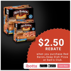 Save On Red Baron Pizza At Sam's Club!