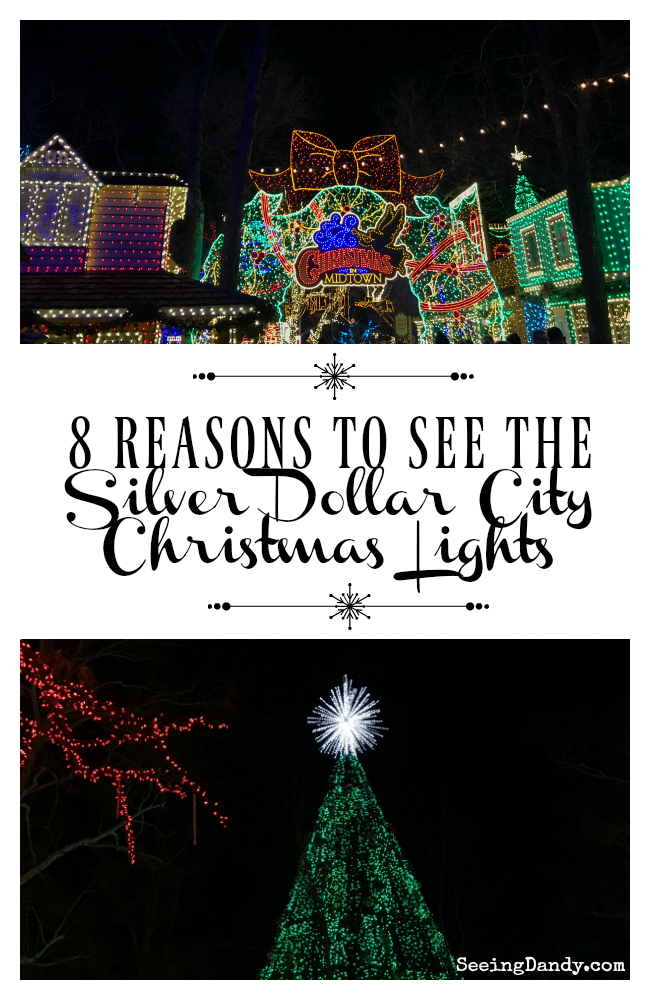 Reasons to see the silver dollar city christmas lights