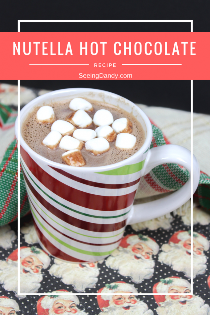 Delicious and easy to make Nutella hot chocolate recipe.