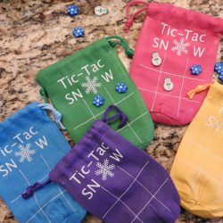 Easy to make Tic Tac Snow Bags.