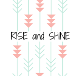5 Free Rise and Shine Art Printables