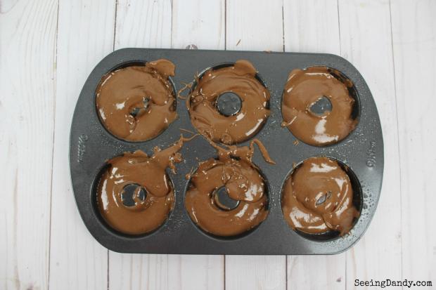 chocolate donut pan Wilton